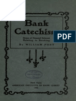 Bank Catechism-items of General Interest Relating to Banking 1904
