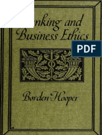 Banking and Business Ethics 1921