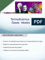 Termodinamica gases ideales