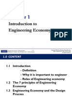Chapter 1 - Introduction to Engineering Economy