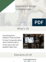 UX Intro