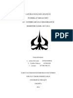 laporan kuliah lapangan