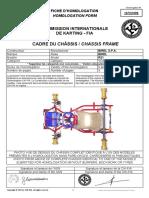 Birel 147-CH-08 R31 Homologation