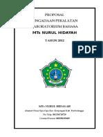 Contoh Proposal Bantuan Dana Laboratorium Bahasa