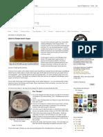 Sui Generis Brewing_ Quick & Simple Invert Sugar