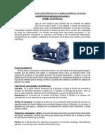 Informe de Las Curvas Características de La Bomba Centrífuga 100-200