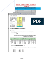 01.- Calculo Estructural Reservorio