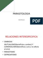 PARASITOLOGIA.-REPASO