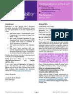 Newsletter Spring 2017 - Physical Disability Australia