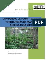 Compendio de Hojas Tecnicas de Agricultura Sostenible