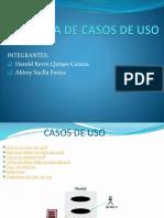 Exposicion de Diagrama de Casos de Uso