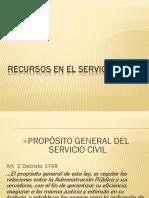 Recursos en El Servicio Civil