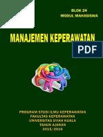 Modul Mahasiswa Manajemen Keperawatan 2016