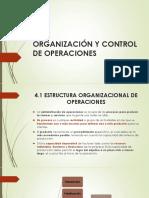 Organización y Control de Operaciones
