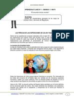 Guia Historia 5basico Semana11 El Encuentro de Dos Mundos Mayo 2013