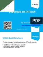 10 Configuración Del Sistema de Seguridad de InTouch
