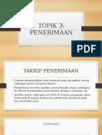 3.PENERIMAAN