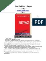 Ted Dekker - Beyaz - CepSitesi.net