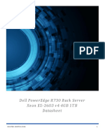 Dell Poweredge R730 Rack Server (pe_r730_1356) Datasheet