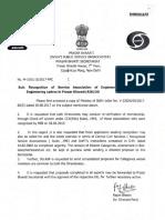 Reg Recognition of Service Association