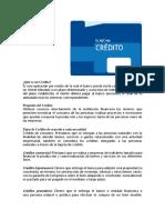 4.- Administracion de Operaciones de Credito y Utilizacion de Canales