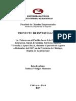 Administración - Proyecto - La pobreza en el pueblo joven 9