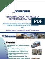 Regulación Tarifaria de La Distribución de GN