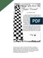 7 How to Build the Super-Parasol Part I