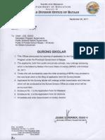 Division Memorandum No. 281 s. 2017EDITED