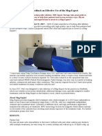 NRS Sports Therapy Feedback on Effective Use of the Mag-Expert