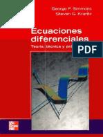 Ecuaciones Diferenciales Teoria Tecnica y Practica