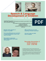 Speech & Language Development of Children