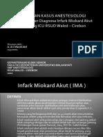 Presentasi IMA d ICU