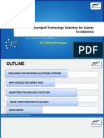 Smartgrid TechnologySelection for Islands in Indonesia
