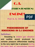 Phenomenon of Knocking