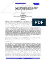 Full Paper Full Adoption of International Financial Report Standards Ifrs and Its Impact (1)