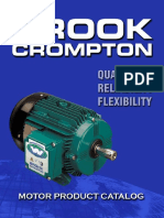 Brook Electric Motor Catalog