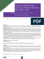 Comportamiento Epidemiológico Del Osteosarcoma en La Población Mexicana Entre 2005 y 2014