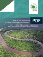 Atlas de oportunidades de conservación en el bioma amazónico bajo consideraciones de cambio climático