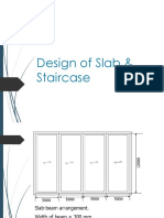 Slab and Staircase