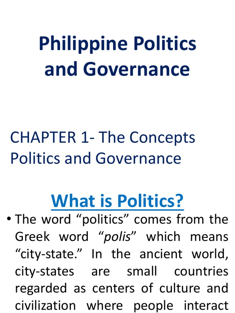 What is politics? 38