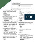 Soal UTS Kimia Dasar 1 Ganjil 2012
