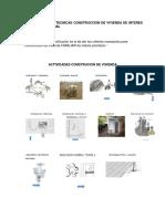 Especificaciones Tecnicas vivienda interes prioritario