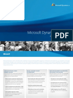 Microsoft Dynamics AX - A New Generation in ERP