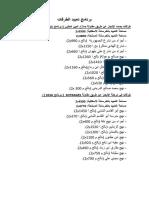 2 برنامج تعبيد الطرقات والكميات