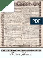 Thomas Jefferson - Declaration of Independence
