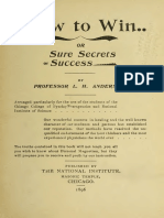 1896 Anderson How to Win