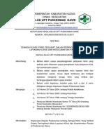 9.1.1.1sk Tenaga Klinis Yang Terlibat Dalam Peningkatan Mutu Layanan Klinis Dan Keselamatan Pasien