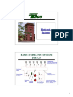 Hydronic Systems Dinner Session Presentation Copy