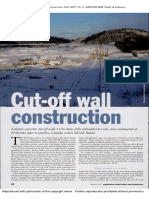 Cut-Off Wall Construction